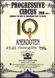 Affisch - Progressive Circus 2016 (part I)