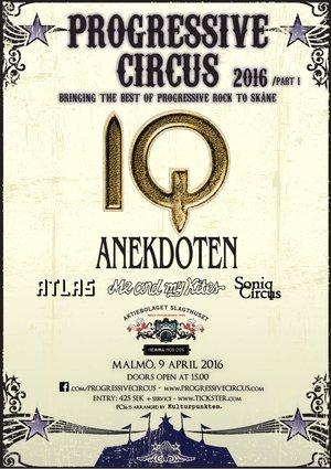 Affisch - Progressive Circus 2016 (part I)