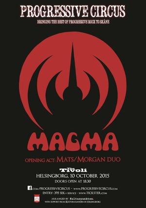 Affisch - Magma